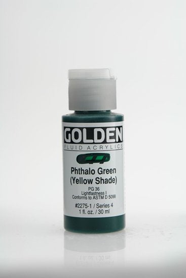 Golden Fluid Phthalo Green yellow shade 30 ml