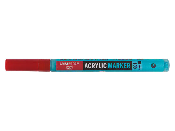 Amsterdam Marker 2mm – 661 Turqouise green