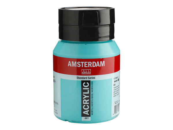 661 Amsterdam Standard - Turquoise green 500 ml
