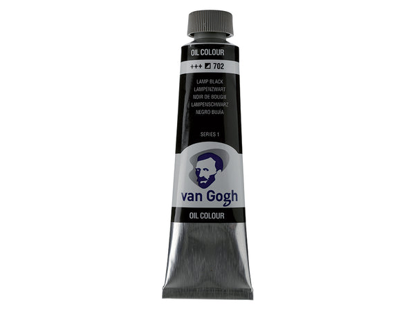 Van Gogh Olje 40ml – 702 Lamp black