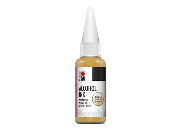 Marabu Alcohol Ink 20ml – 784 Metallic-gold