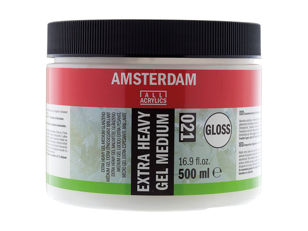 Amsterdam Heavy Gel Medium Glossy 015 – 500ml