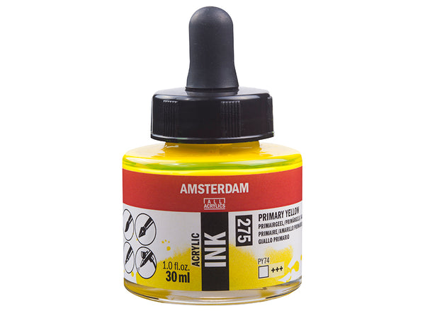 Amsterdam Ink 30ml – 275 Primary Yellow