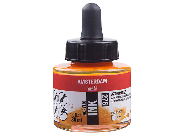 Amsterdam Ink 30ml – 276 Azo Orange