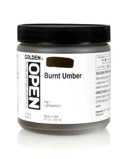 70305 Golden Open Burnt Umber 237 ml s1