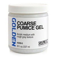 Golden Medium Gel, Coarse pumice gel 32005,  237ml