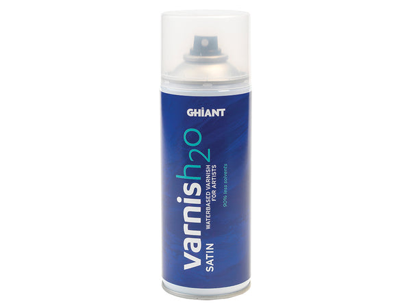Ghiant H2O Varnish 400ml Satin / Halvblank - luktfri