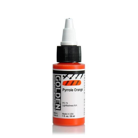 Golden High Flow 30ml 85391 Pyrrole Orange S8