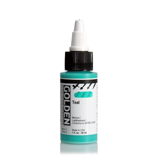Golden High Flow 30ml 85471 Teal S3