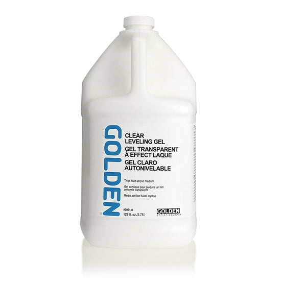 Golden Medium Gel, 30016 Clear leveling gel, 3,78 liter
