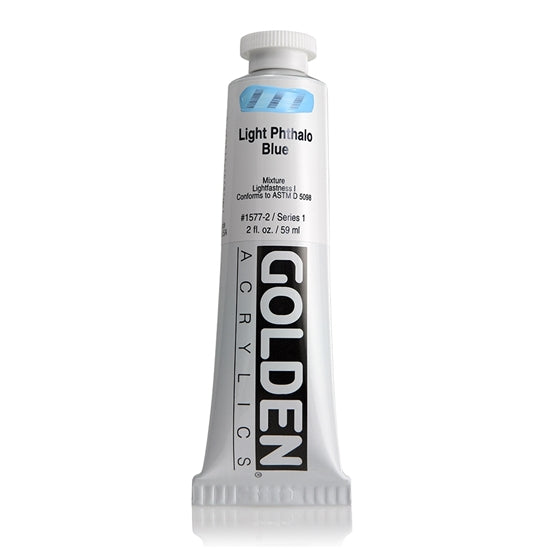 Golden Heavy Body 59ml 15772 Light Phthalo Blue S1