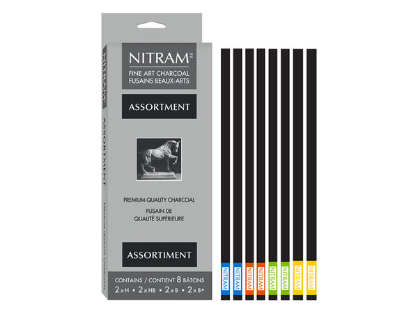 NITRAM Charcoal Assortment – 2x4stk
