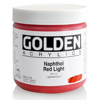 Golden Heavy Body 12106 Naphthol Red Light S5 473 ml
