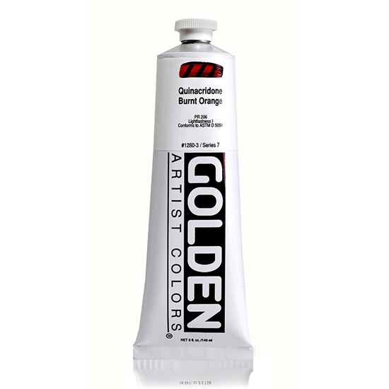 Golden Heavy Body 148 ml 12803 Quinacridone Burnt Orange S7