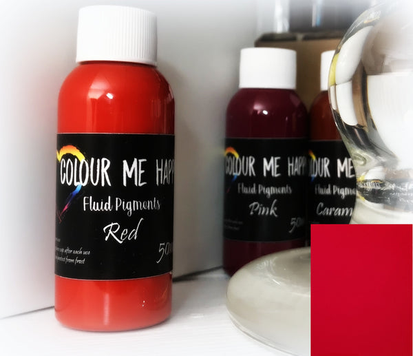Red 50 ml - Flytende Pigment - Colour Me Happy