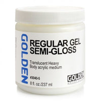 Golden Medium Gel, 237ml 30405 Regular gel (semigloss)