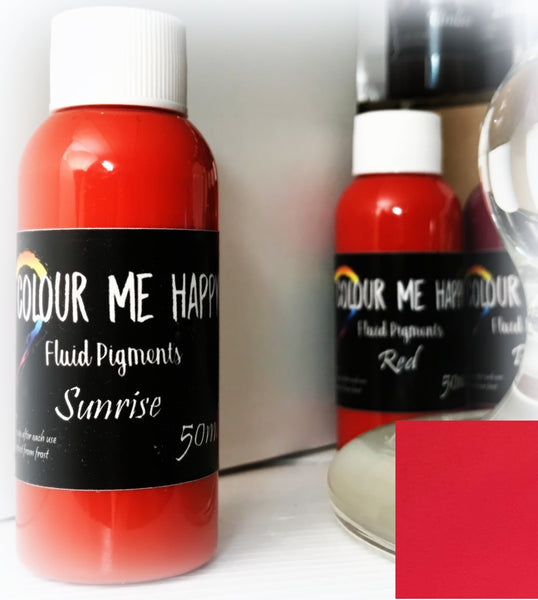 Sunrise 50 ml - Flytende Pigment - Colour Me Happy
