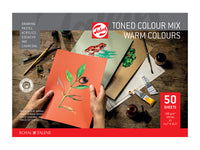 Talens Toned Paper – Warm color mix A3 – 180g – 50 ark