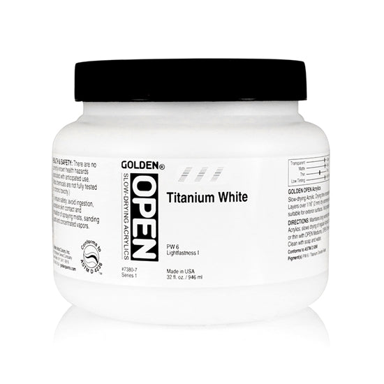 Golden open 73807 Titanium White 946 ml