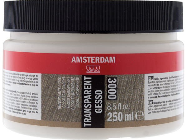Amsterdam Gesso Transparent 3000 – 250ml
