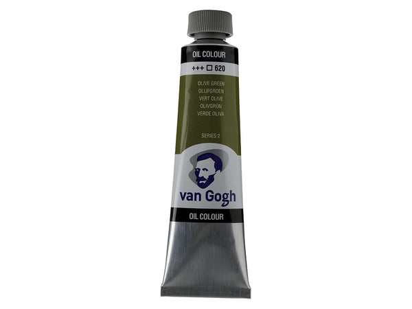 Van Gogh Olje 40ml – 620 Olive green