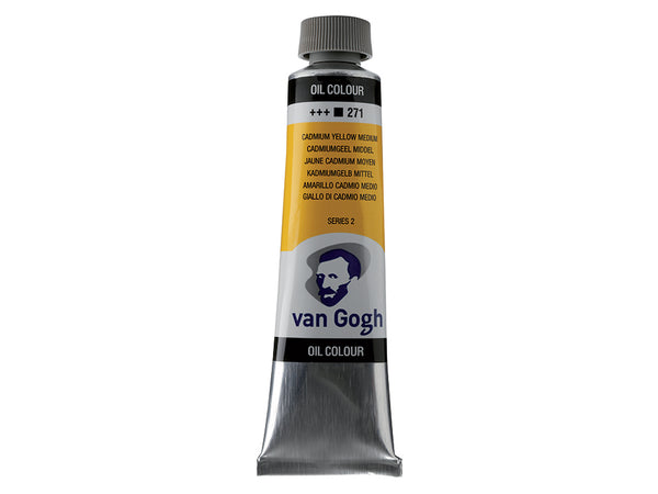 Van Gogh Olje 40ml – 271 Cadmium yellow medium
