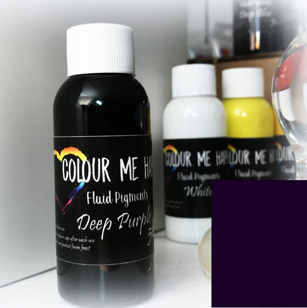 Deep Purple 50 ml - Flytende Pigment - Colour Me Happy