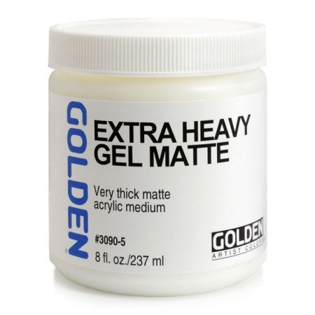 Golden Medium Gel, 30905 Extra Heavy gel matte, 237 ml
