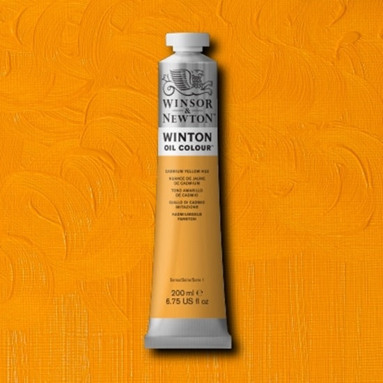 Winton oljemaling, Cadmium Yellow Hue, 200 ml
