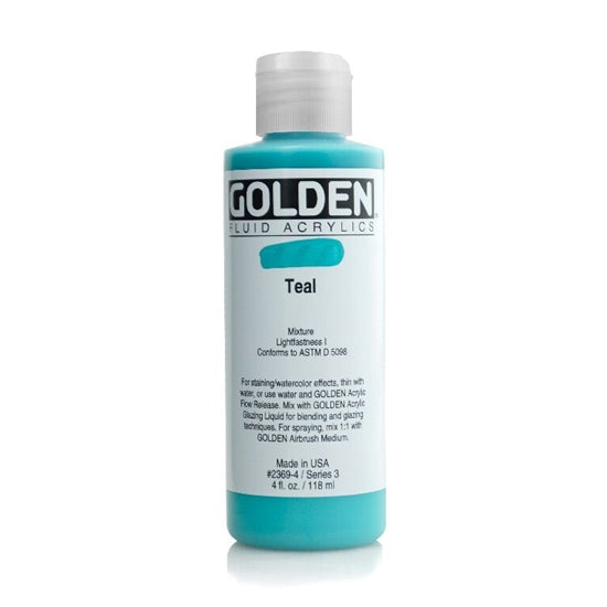 Golden Fluid 23694 Teal 118 ml