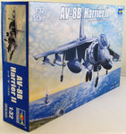 Trumpeter 1:32 TRU 02229 AV-8B Harrier II Model Aircraft Kit - Damaged Box