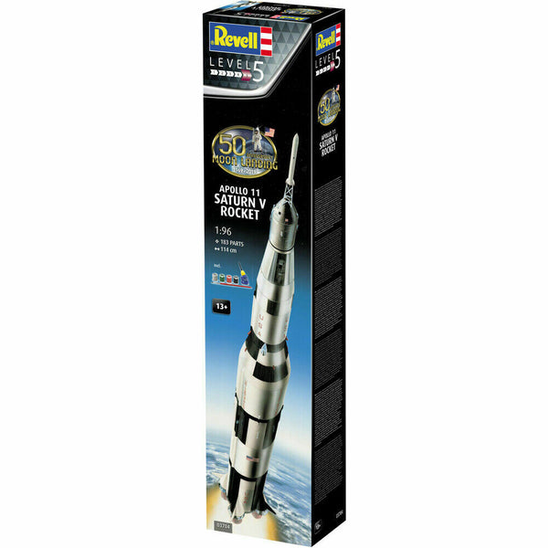 Revell 1:96 03704 Apollo 11 Saturn V Rocket Model Set Space kit