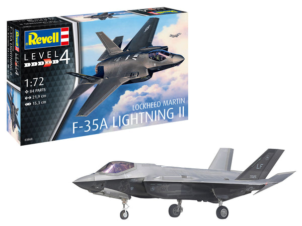 Revell 1:72 03868 F-35A Lightning II Model Aircraft Kit