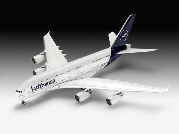 "Revell 1:144 03872 Airbus A380-800 Lufthansa ""New Livery"" Model Aircraft Kit"