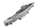 Revell 1:72 05133 German Submarine Type IX C/40 (U190) Model Ship Kit