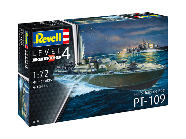 Revell 1:72 05147 Patrol Torpedo Boat PT-109 Model Ship Kit