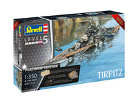 Revell 1:350 05160 TIRPITZ Platinum Edition Model Ship Kit