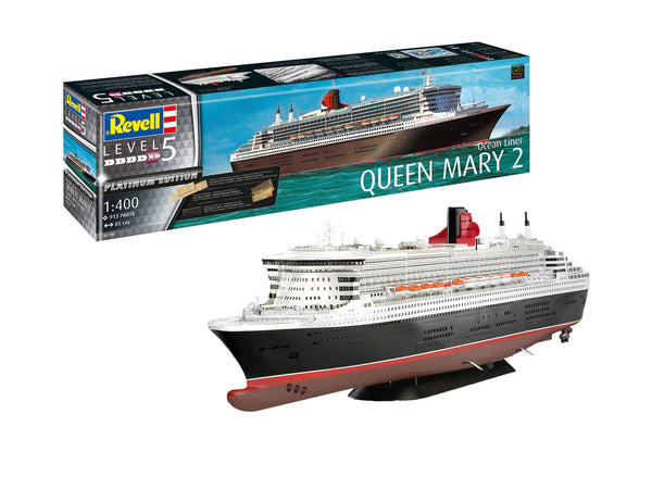 Revell 1:400 05199 Queen Mary 2 Model Ship Kit