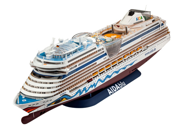 Revell 1:400 05230 Cruiser Ship AIDAblu Model Ship Kit