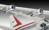 Revell 1:144 05686 Boeing 747-100 50th Anniversary Gift Set Model Aircraft Kit