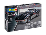 Revell 1:24 07646 '78 Corvette Indy Pace Car Model Car Kit