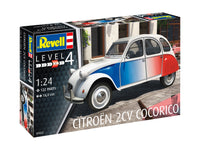 Revell 1:24 07653 Citroën 2 CV Cocorico Model Car Kit