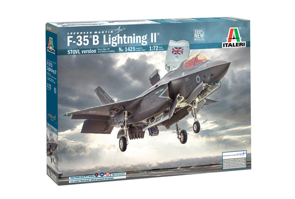 Italeri 1:72 1425 RAF Lockheed Martin F-35B Lightning II Model Aircraft Kit