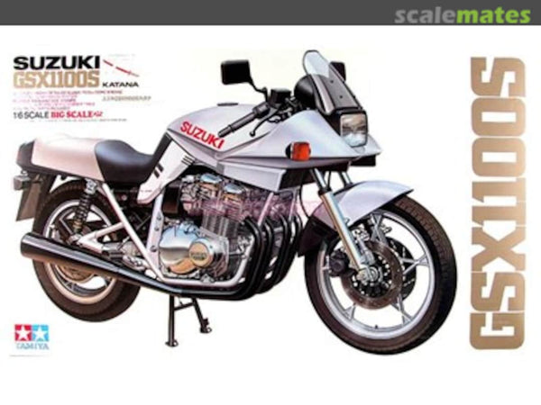 Tamiya 1:6 16025 Suzuki GSX1100S Model Motorcycle Kit