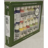 Vallejo 70147 Model Colour Set - American Colonial 16 Colour Acrilic Paint Set