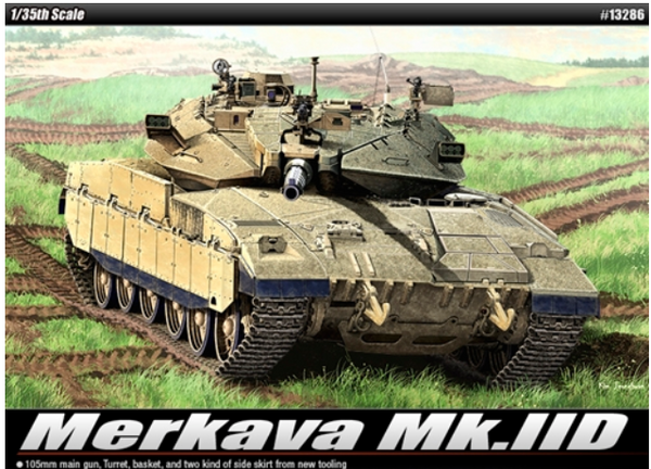 Academy 1:35 13286 Merkava Mk IID IDF Model Military Kit
