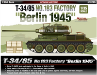 Academy 1:35 13295 T-34/85 183 Factory 'Berlin 1945' Model Military Kit