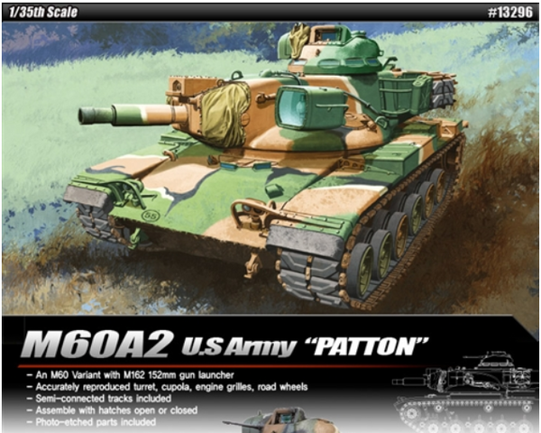 Academy 1:35 13296 M60A2 Patton Model Military Kit