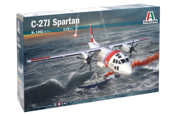 Italeri 1:72 1402 C-27J Spartan Model Aircraft Kit