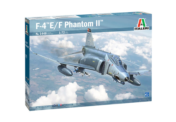 Italeri 1:72 1448 F-4E/F Phantom II Model Aircraft Kit